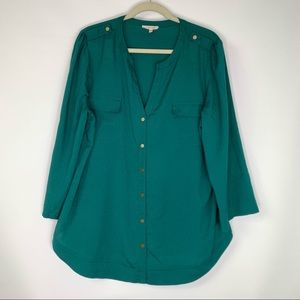 41 Hawthorn Button Up  blouse